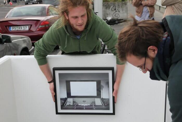 Fig. 3: toll ffm & toll mz & toll mvd: gallery project in Frankfurt, Montevideo & Mainz, 2008–2012 | Image: Irina Zikuschka & Raul Gschrey