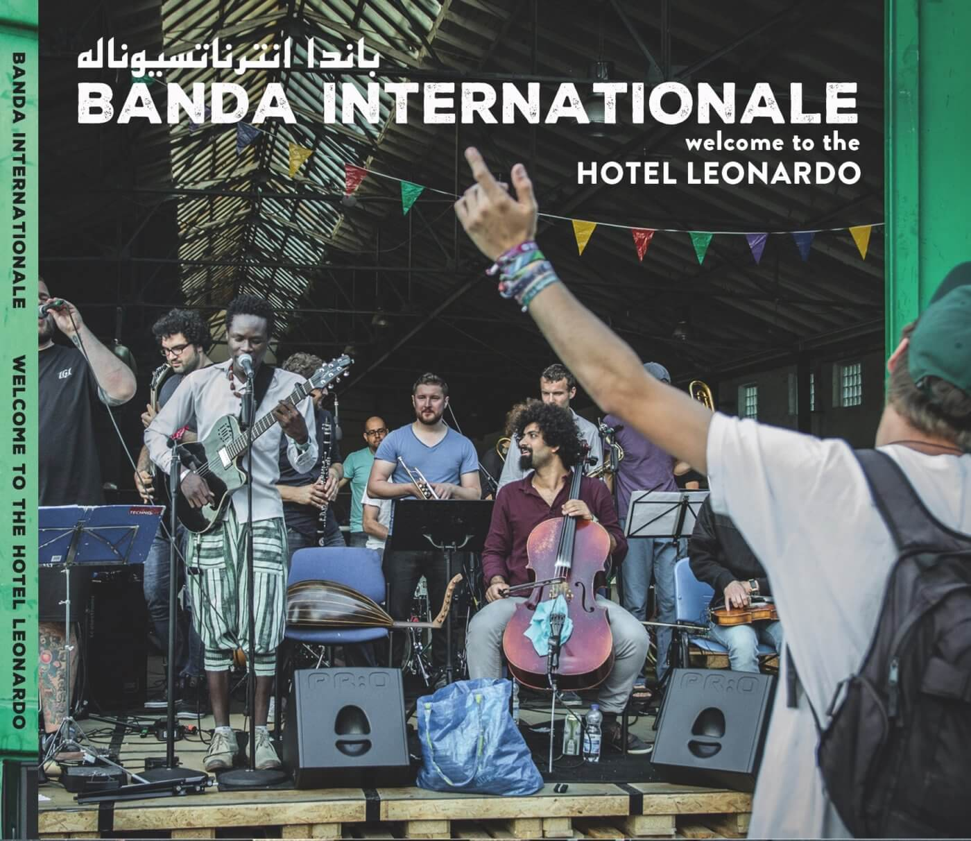 Fig. 1: Album cover Welcome to the Hotel Leonardo by Banda Internationale.